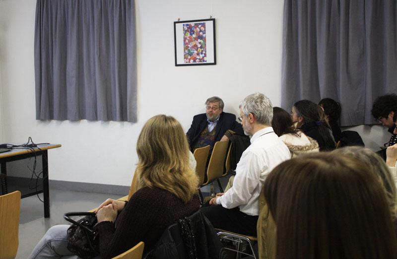 Il Dr. Tazio Carlevaro (GAT-P) durante un intervento.